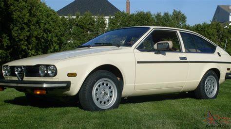 1979 Alfa Romeo Alfetta Sprint Veloce