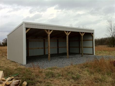 pole shed plans pole barn 12x40 loafing shed material list building plans