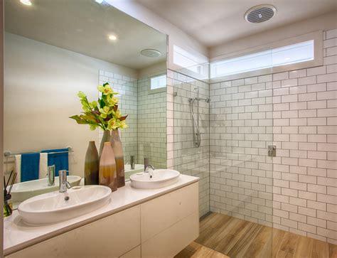 Bathroom Floor Tiles Melbourne by Modern Bathroom With Floorboard Look Floor Tiles