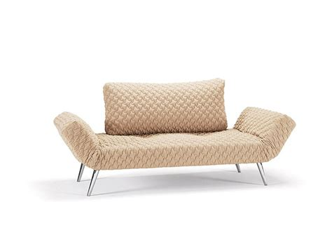 Daybed Sleeper Sofa by Comfy Daybed Sofa Bed In Sand Finish With Textured