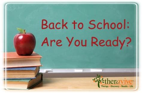 Back to School Series: Are you Ready?