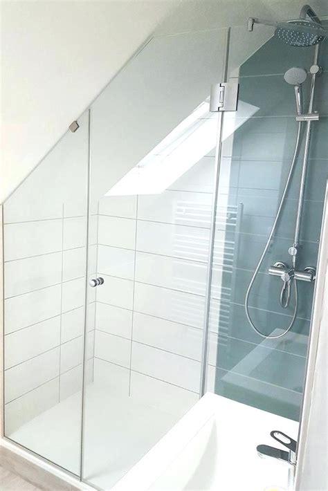 paroi douche sous comble  la douche paroi douche sous
