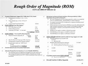 rough order of magnitude template choice image template With rough order of magnitude template