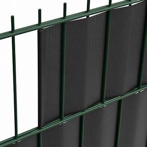 Sichtschutz Für Doppelstabmatten : pvc sichtschutzstreifen 35m rolle sichtschutz f r doppelstabmatten zaunfolie ebay ~ Orissabook.com Haus und Dekorationen