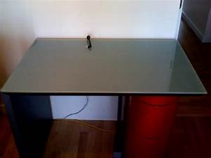 Film Protection Table En Verre : dessus de table en verre trempe sur mesure verre securit ~ Dailycaller-alerts.com Idées de Décoration