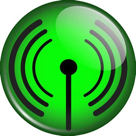 onlinelabels clip art glassy wifi symbol