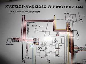 Yamaha Oem Factory Color Wiring Diagram Schematic 1986 Wiring Diagram