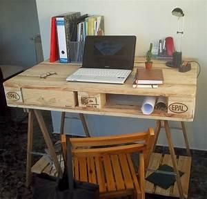 Schreibtisch Selbst Bauen : schreibtisch selber bauen 29 ideen aus holz europaletten ~ A.2002-acura-tl-radio.info Haus und Dekorationen