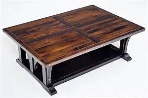 rustic cottage coffee table painted reclaimed wood unique With rustic cottage coffee table