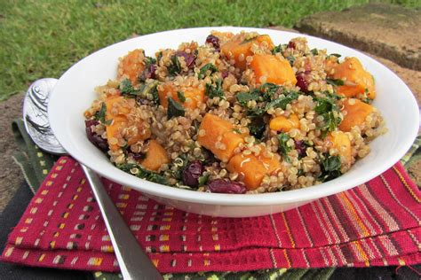 sweet potato  quinoa salad recipe dishmaps