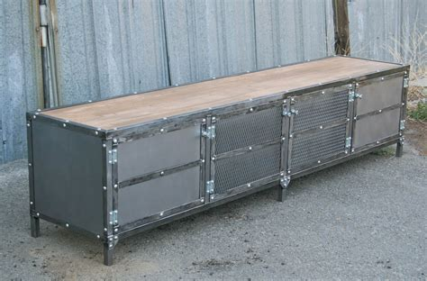 Combine 9   Industrial Furniture ? Modern Industrial Console