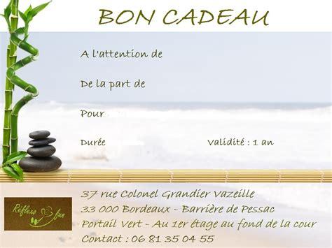 Carte Cadeau Restaurant Bordeaux by Le Bon Cadeau R 233 Flexo