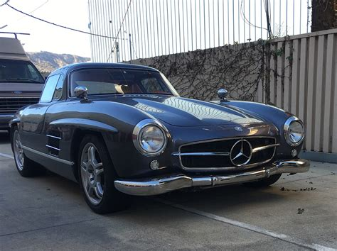 Would You Drive A Mercedes 300 Sl Gullwing Replica Based
