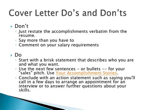 Do S And Don Ts Of Resume Cover Letters by Sle Cover Letter College Recruiter Cover Letter