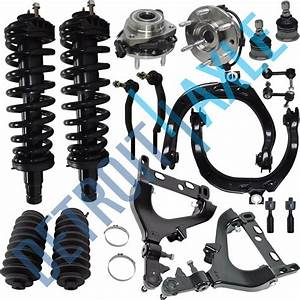 New 18pc Complete Front Suspension Kit For Chevy