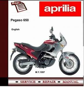Aprilia Pegaso 650 1997 - 2001 Workshop Service Manual