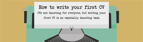 How To Write Your Cv Exles how to write your cv euroffice