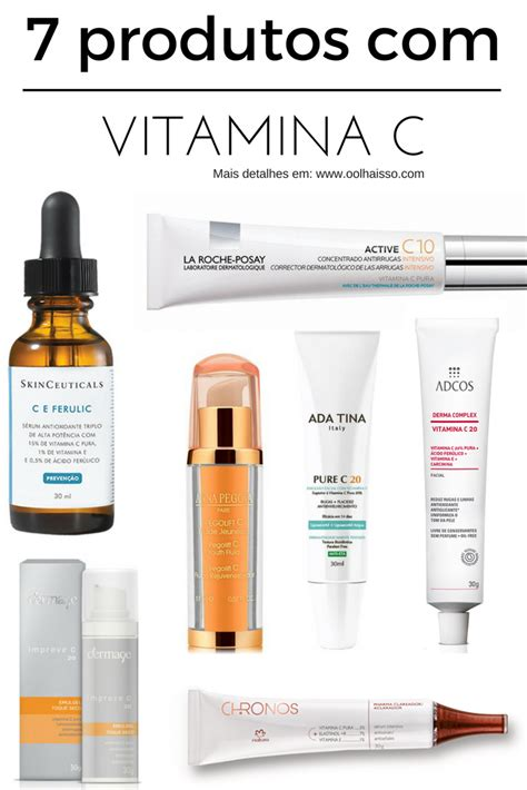 Por que usar vitamina C na pele? Quais produtos