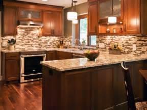 Beautiful Backsplashes Kitchens Brown Transitional Kitchen With Tile Backsplash Beautiful Efficient Kitchen Design And Layout