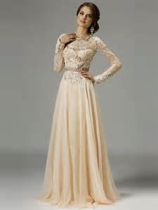Formal Long Sleeve Lace Prom Dress