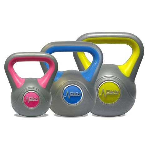 vinyl kettlebell 4kg dkn weight