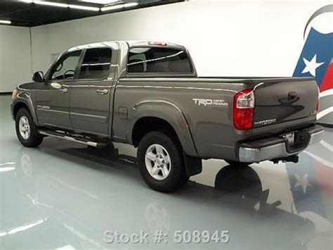 sell   toyota tundra sr double cab  trd offroad