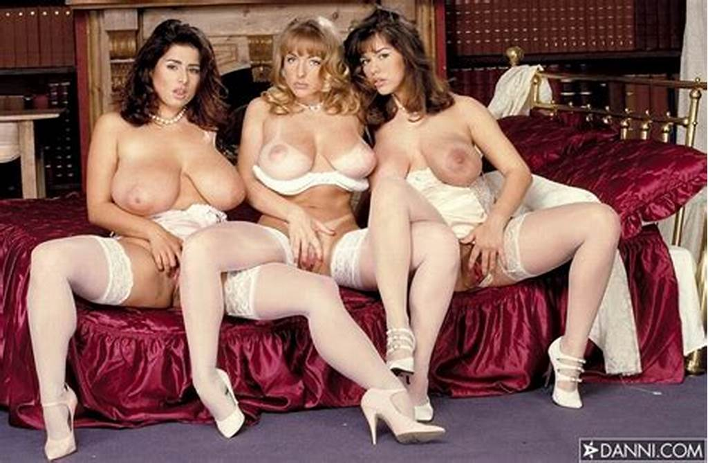 #Busty #Lesbian #Trio #In #White #Stockings