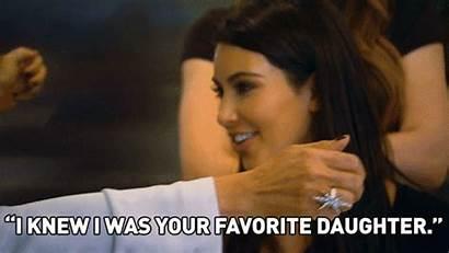 Mom Kris Birthday Jenner Happy Getting Hugging