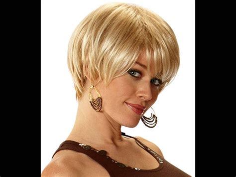 short hairstyles   faces  thick hair youtube