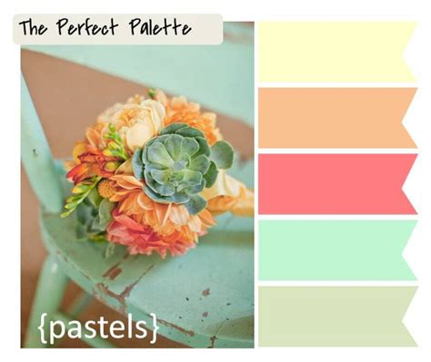 1000 images about color combos wonderful pastel wedding color schemes 1000 images about
