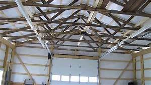 Cha Pole Barn Update We Got Grid Power Led And Fluorescent