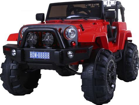 Rocket Wrangler Kids Electric Battery Ride On Jeep Quad