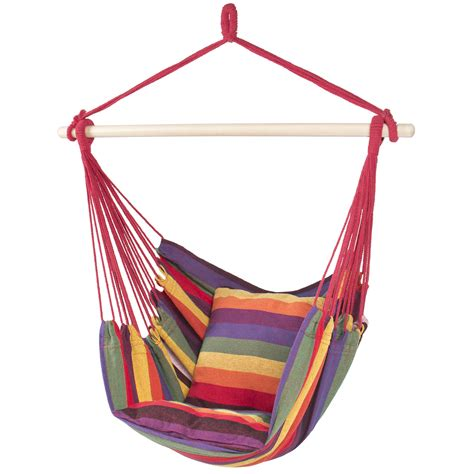 Hammock Seat by Hammock Hanging Rope Chair Porch Swing Seat Patio Cing