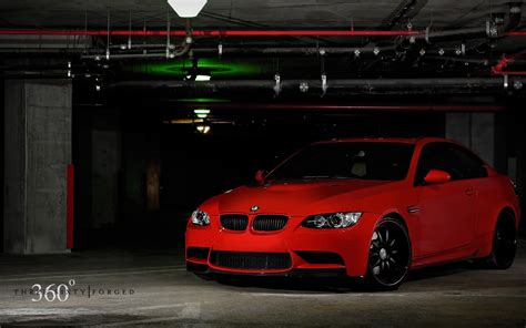 Bmw M4 Car Tuning Red Blue Stripes