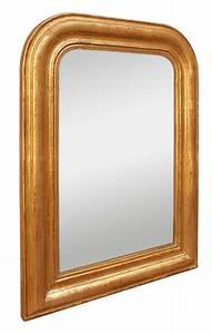 Miroir Doré Ancien : petit miroir ancien bois dor style louis philippe ~ Teatrodelosmanantiales.com Idées de Décoration