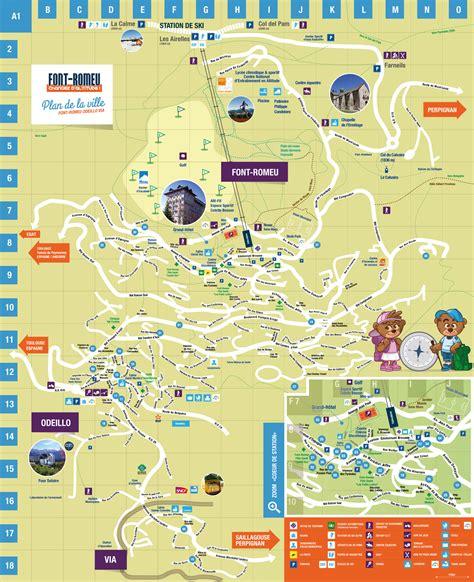 Mairie Ville De Plan De Brochures Font Romeu