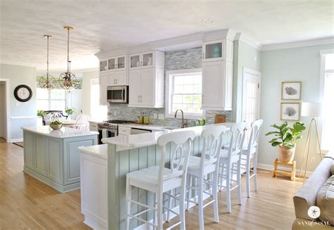 master bathrooms ideas coastal kitchen makeover the reveal