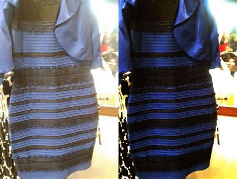 Erklärung (anschaulich) Für Das Blau-schwarze Kleid, Das