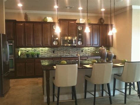 Kitchen Dark Cabinets Backsplash Dark Countertops