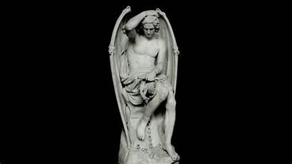 Lucifer Statue Sculpture Angel Geefs Guillaume Sculptures
