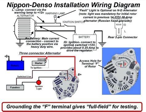 wire delco alternator wiring diagram tach wire wiring