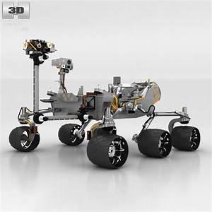 Curiosity Mars Rover 3D Model MAX OBJ 3DS FBX C4D LWO LW ...