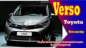 2019 Toyota Verso 2019 toyota verso usa 2019 Toyota Verso MPV new cars buy YouTube