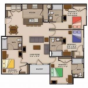 4 bedroom floor plans 4 bedroom house designs perth With 4 bedroom flat plan design