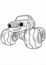 Blaze Monster Machines Coloring Pickle Coloriage Pickel Printable Dinoco Cartoon Petit King раскраска Dessins Babyhouse Coloriages Animes Machine Truck Pickles sketch template
