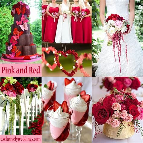 how to wedding colors pink wedding color twelve combinations exclusively weddings wedding ideas and