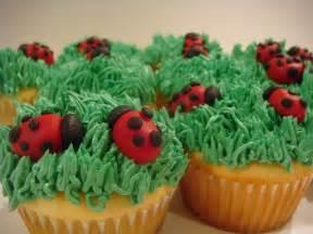 Cute Ladybug Cupcakes