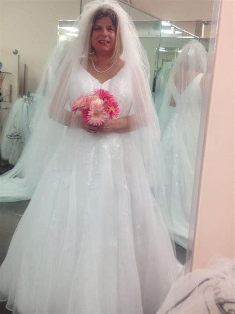 beautiful bridal crossdresser