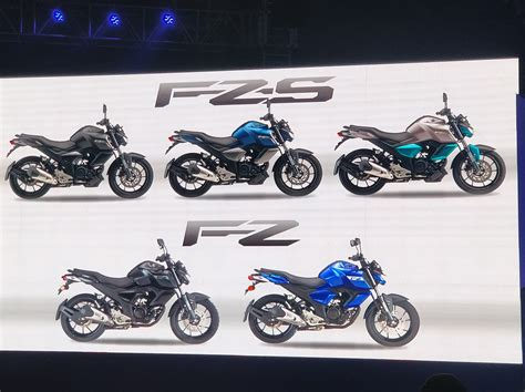 It is available in 4 variants and 7 colours with top variant price starting from rs. New 2019 Yamaha FZ, FZ-S launched: Fazer 25 and FZ 25 gets ABS - The Financial Express