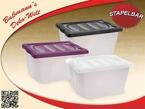Kunststoffbox Mit Deckel 100 L : 2 stapelbox mit deckel lifestyle 20 l aufbewahrungsbox kunststoffbox kisten box ebay ~ One.caynefoto.club Haus und Dekorationen